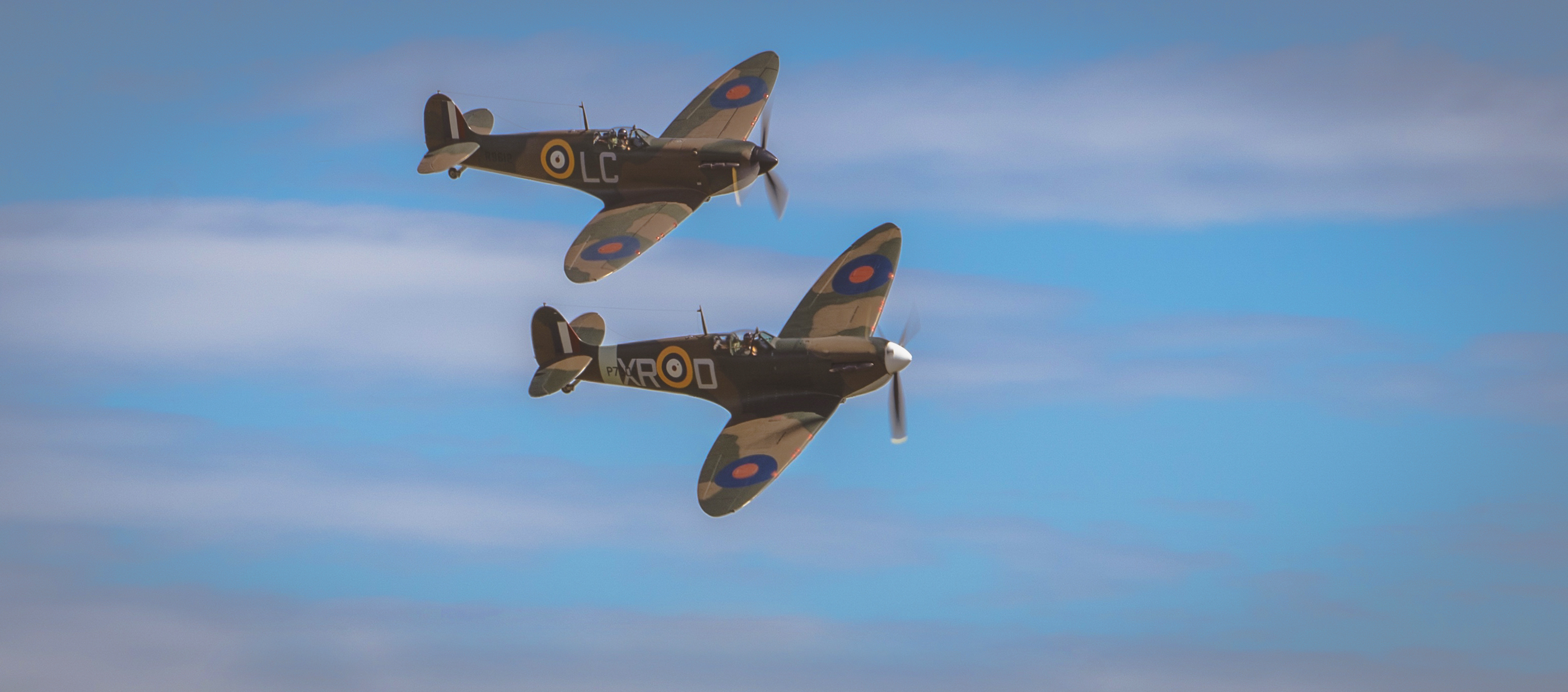 Brexit will be won like WWII. RAF Spitfires over Dunkirk, July 2017.