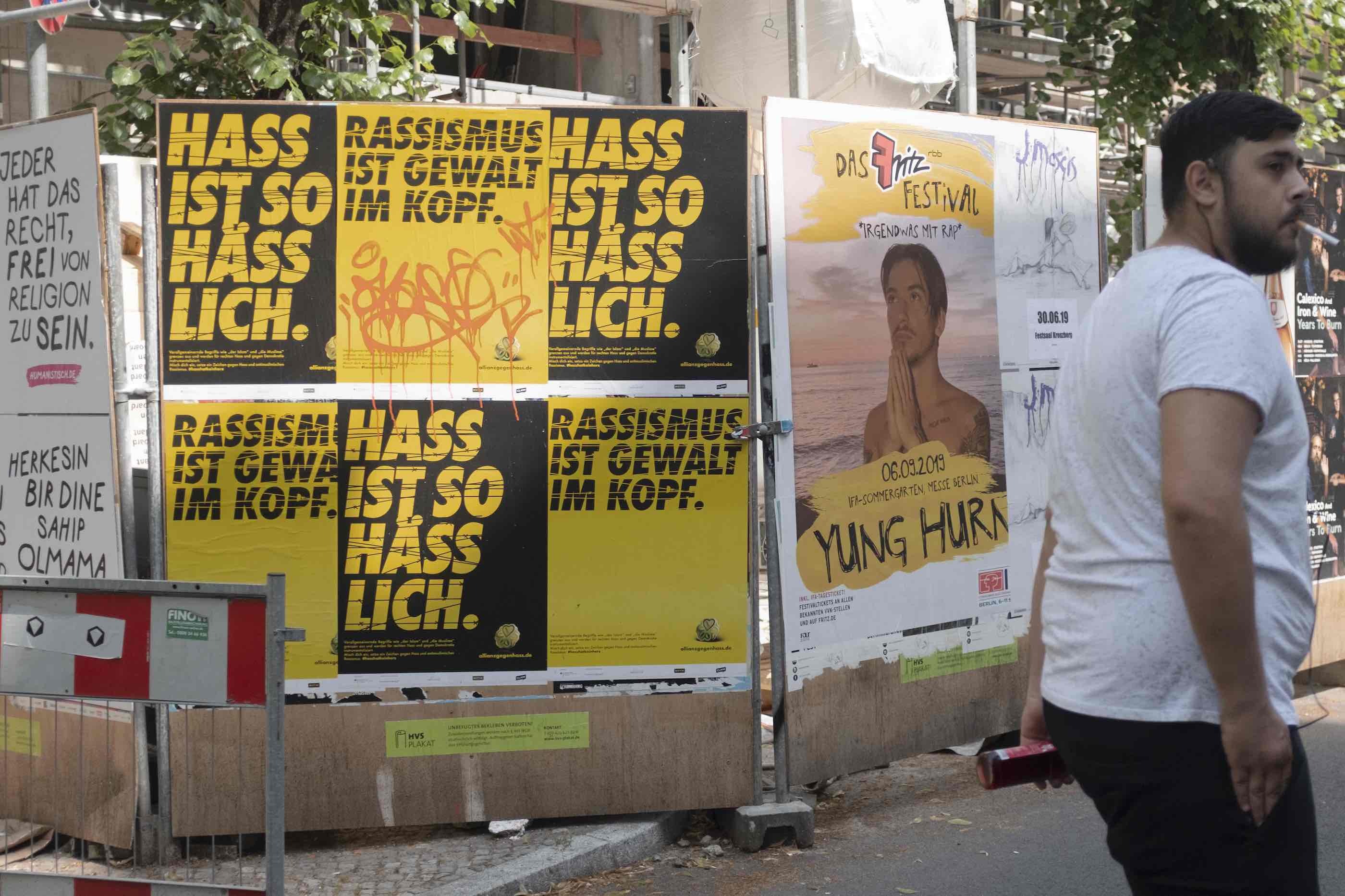 Germany against racism. Berlin, June 2019.