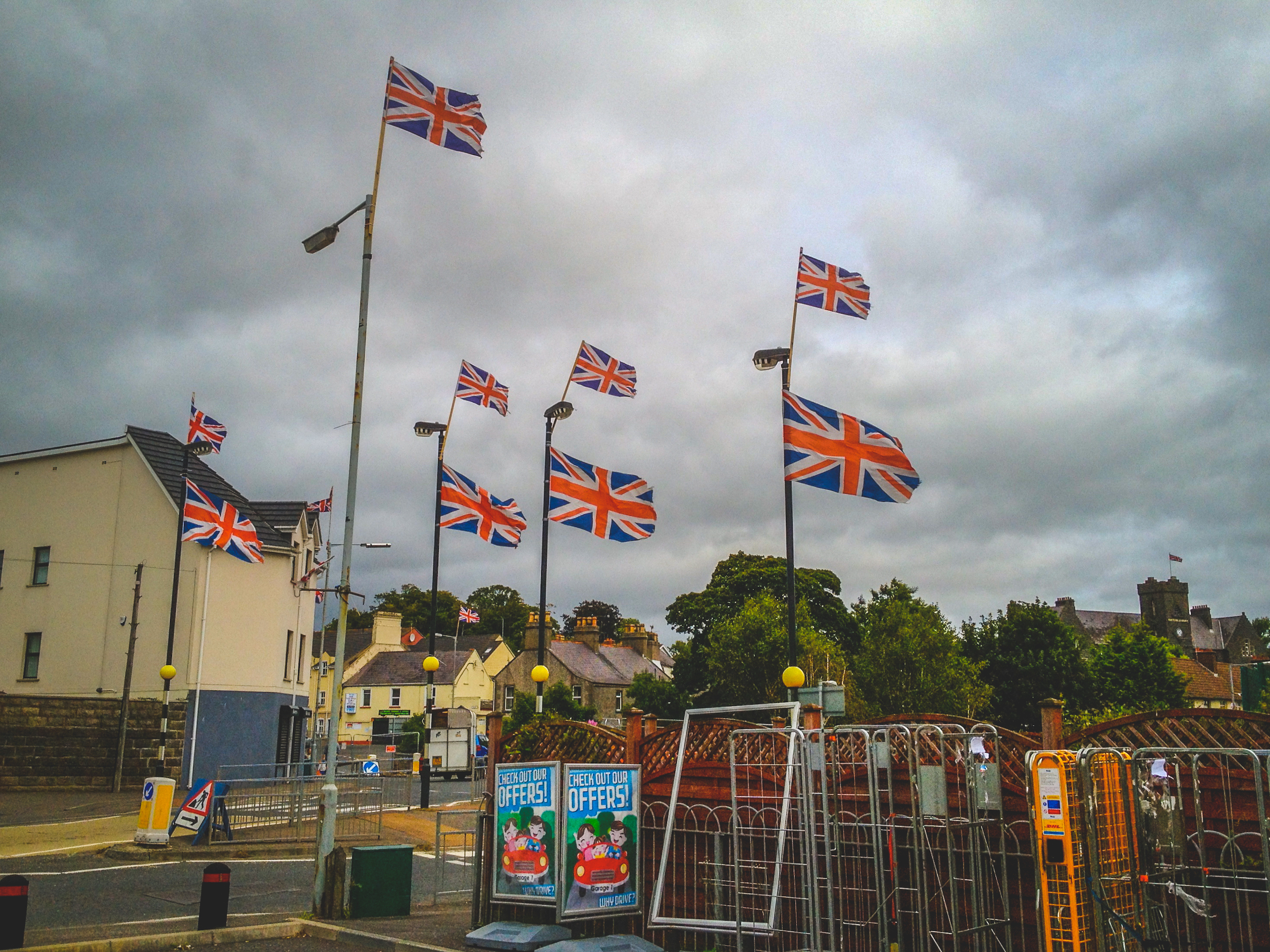 Loyalist Ballygowan, Co. Down, Northern Ireland.