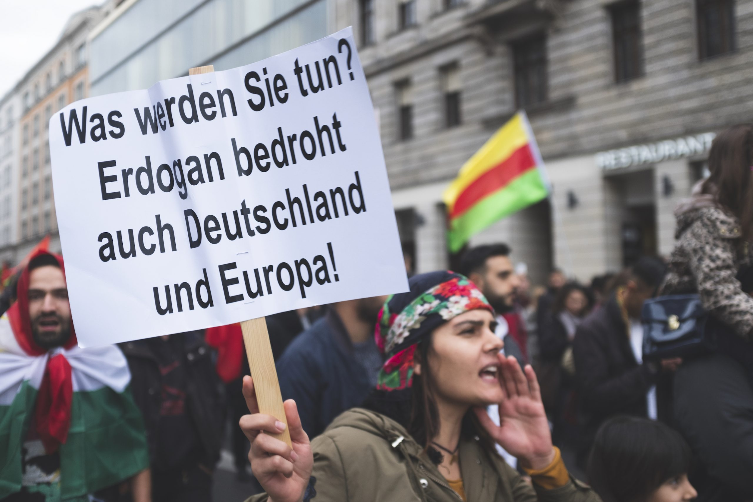 Erdogan is a threat to Germany and Europe.