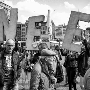 Just say Nee. 2016 Ukraine referendum, Amsterdam.