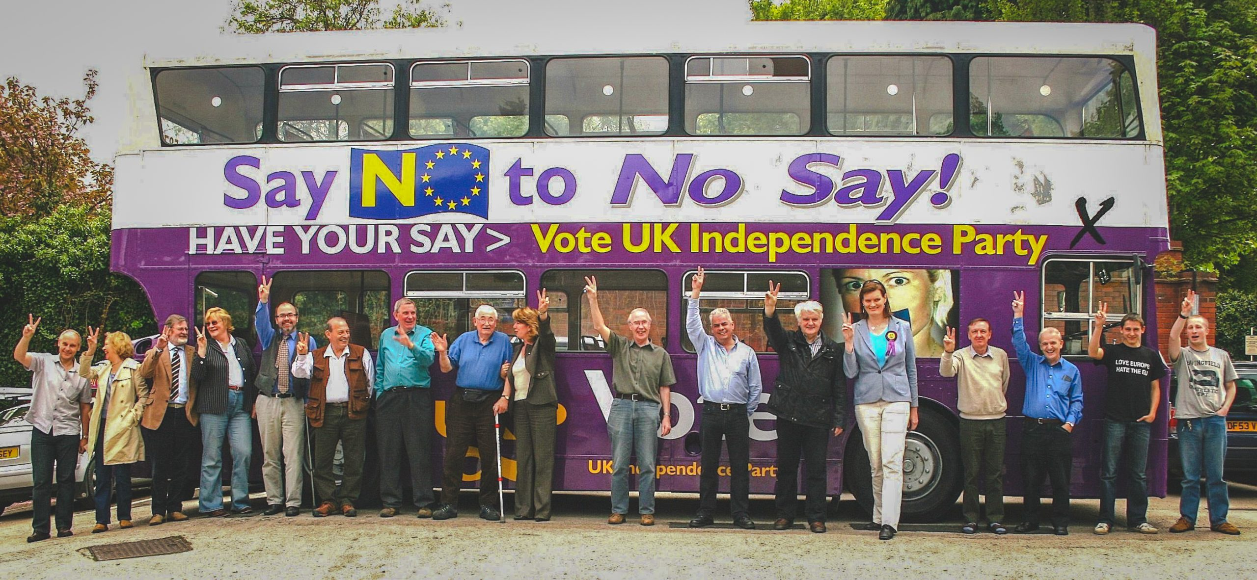 West Midlands UKIP activists, 2009 EU elections.