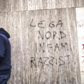 Italians against racism. Moncalieri, December 2018.