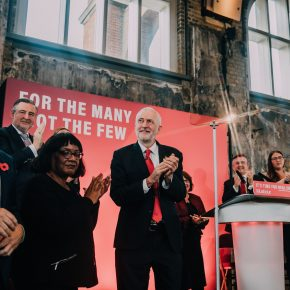Before the deluge. Keir Starmer (L) with Jeremy Corbyn, October 2019.