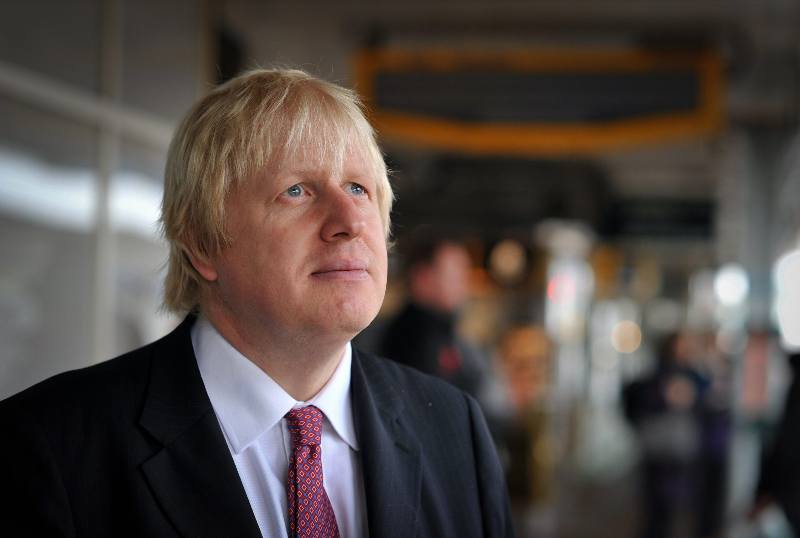 He could see into the future. Boris Johnson, 2012.